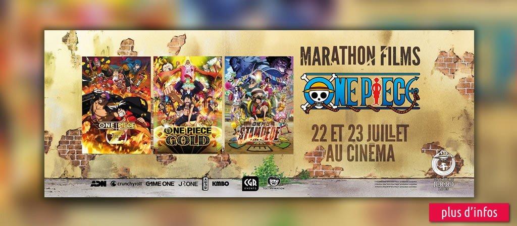 actualité Marathon One Piece